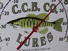 CANE CREEK - Fishing LURES - Bait Shop - C.C.B. Co. -Temperature Sign SUPER ITEM