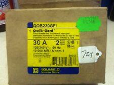 Sqd Qob230Gfi 2 Pole 30 Circuit Breaker New In Box Free Shipping