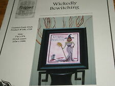""" Wickedly Bewitching "" Cross Stitch Pattern Designs by Lisa"