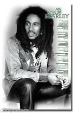 BOB MARLEY ONE LOVE LYRICS FUNKY 9667 POSTER 22x34 REGGAE MUSIC FREE SHIPPING