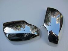 Chrome Side Mirror Cover trim for Subaru XV Side Mirrors Turning Light Rearview