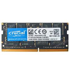 Crucial 16GB 32GB 64GB DDR4 2666Mhz Sodimm Memory For iMac 2019 5K Mac Mini 2018