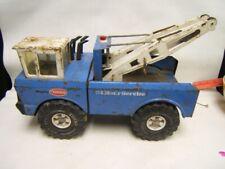 """Mighty Tonka Twin Boom Tow Truck 16"""" x 7.5"""" x 9"""" Pressed Steel"""