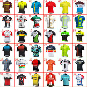 2021 Mens team cycling jersey bike Short sleeve Tops bicycle jersey racing shirt