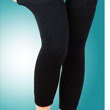 Popular Wool Thermal Knee Leg Warmer Long Socks Elasticated Kneepad LeggingRDUJ