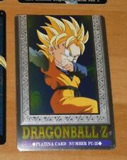 DRAGON BALL Z DBZ HERO COLLECTION PART 3 PLATINA CARD PRISM CARTE PC-25 MINT