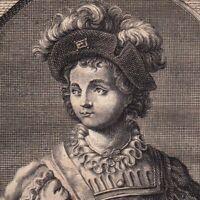 Portrait XVIIIe Philibert Ier De Savoie Prince de Piémont Comte Aoste Maurienne