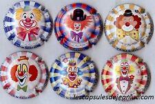 Champagne LEMAIRE DOMINIQUE   6 nouvelles capsules les clowns