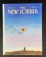COVER ONLY ~ The New Yorker Magazine, August 31, 1987 ~ Eugene Mihaesco