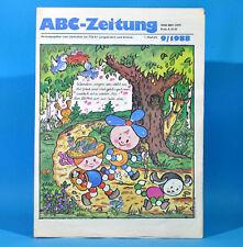 DDR ABC-Zeitung 9-1988 Zeitschrift für Junge Pioniere Möser Hattingen Ampler