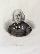 F. Armand Médaille Ordre du Lys - gravure sur acier XIXe siècle