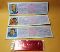 James Bond Jr File Cards set of 3