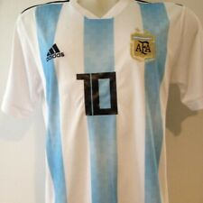 Lionel Messi Personally Hand Signed Argentina Jersey + Proof + Coa