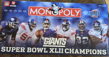 Monopoly Giants Super Bowl Xlii Champions, Collector's Edition