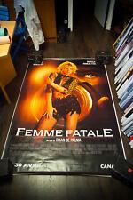 FEMME FATALE De Palma 4x6 ft Bus Shelter D/S Movie Poster Original 2002
