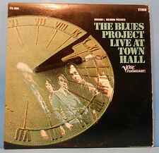 THE BLUES PROJECT LIVE AT TOWN HALL LP '67 ORIGINAL PRESS GREAT COND! VG++/VG+!!