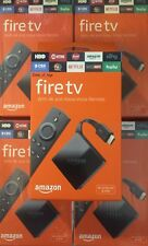 Amazon Fire TV with Alexa Voice Remote 4K ULTRA HD Media Streamer 3rd Generation