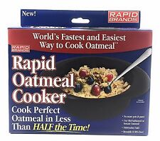1 NEW Rapid Oatmeal Microwave Cooker - As Seen On TV! (Reusable and BPA FREE)