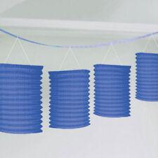 Décorations de fête guirlandes bleus pour la maison toutes occasions