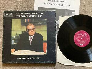 SLS 879 Shostakovich String Quartets Nos. 1-13 The Borodin Quartet  NM