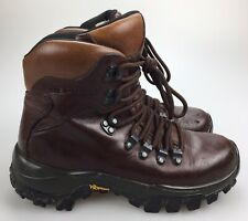 Merrell Explorer III Vibram Women's 6 36 Dark Brown Leather Lace Up Hiking Boots