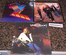 Lot of 3 Johnny Van Zant Promo Records Wild Ones Dirty Deals Self Titled VG+