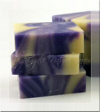 Lavender Natural Soap One Large Soap Bar Olive Oil Shea Butter Aromatherapy Soap