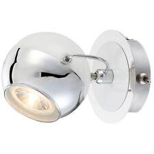 Kugel LED Wandleuchte mit Schalter Wandspot Retro Wandlampe Kugelleuchte weiß