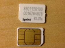 Sprint SIM Card works with iPhone Samsung LG HTC phones