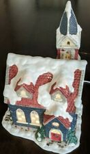 Christmas Village 3D Porcelain Lighted House with Cord