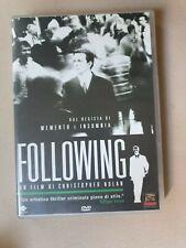 dvd Following (introvabile e rarissimo)