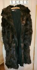 1900's Lanpher Skinner & Co. St. Paul Stagecoach Bear Fur Coat and Fur Gauntlets