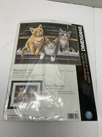 Meowsical Trio Dimensions Cross Stitch Kit 3225 New  #3225  Kittens Cats