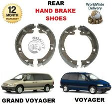 FOR CHRYSLER GRAND + VOYAGER 2000-2007 2.5 TD 2.8 TD 3.0 i NEW HAND BRAKE SHOES