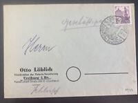 1948 Staufen Baden Germany Commercial Cover Postwar Stamp