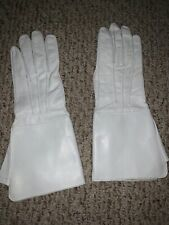 New Leather Long cuff Medieval Gloves Size Medium with cosmetic defect