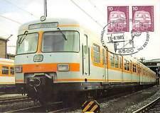 BERLIN MK 1985 495 EISENBAHN ET 420 MAXIMUMKARTE NÜRNBERG MAXIMUM CARD MC d9537