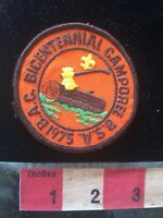 Vtg 1975 BICENTENNIAL CAMPOREE BSA Boy Scouts Patch 70ZZ