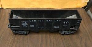 Vintage 1950'S Lionel L.V. 25000 Black Hopper Car Leigh Valley