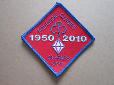 Prudhoe Guides 60 Years Girl Guides Cloth Patch Badge (L3K)