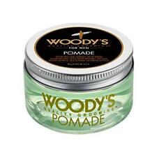 Woody's Hair Styling Pomade for Men 3.4 oz Texture Shine Water Soluble Grooming