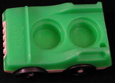 VINTAGE Fisher Price LITTLE PEOPLE Play Family VILLAGE 997 2 Seat CAR Green 1973