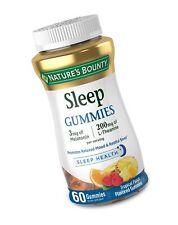Melatonin Gummies , 100% Drug Free Sleep Aid, Dietary Supplement, 60 Count