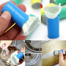 2Pcs Stainless Steel Rod Stick Metal Rust Remover Cleaning Brush Kitchen Tool