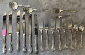 1948 International Silver Wild Rose Sterling Silverware - Individual Pieces