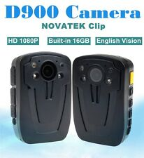 Police Camera Security Guard Recorder DVR Body Pocket HD 1080P Night Vision 16GB