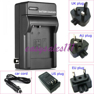 LI-60B Battery Charger For Olympus C-575 FE-370 X-880, Nikon EN-EL11 S660 S560