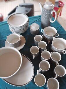 Kaffeeservice Thomas Porzellan 1960er  Küchengeschirr 30 Teile