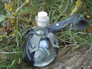 Mittelalter Feldflasche Flasche Trinkbehälter f Gürtel Zaubertrank Trank Glas