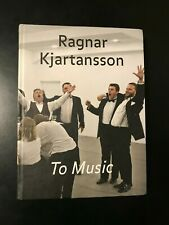 RARE Ragnar Kjartansson To Music Book Iceland Art Visitors Bonjour End Sorrow